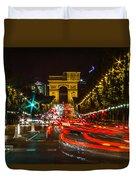 Champs Elysees Duvet Cover