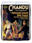 Chandu The Magician Duvet Cover