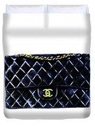 Chanel Bag Poster Duvet Cover