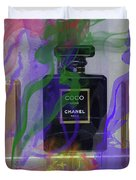 Chanel Coco Abstract Duvet Cover