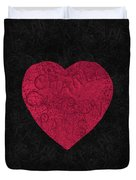 Chanel Heart-1 Duvet Cover