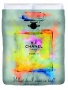 Chanel No.5  Duvet Cover