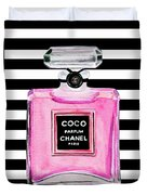 Chanel Pink Perfume 1 Duvet Cover