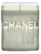 Chanel Plakative Fashion - Simple Beige Duvet Cover