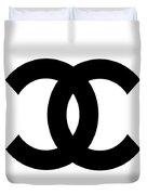 Chanel Symbol Duvet Cover