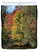 Changing Colours Of The Fall Duvet Cover