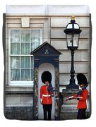 Changing Of The Guard 2 Duvet Cover