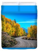 Changing Times Duvet Cover