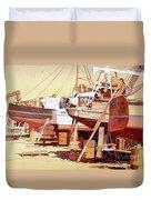 Chantier Naval Duvet Cover