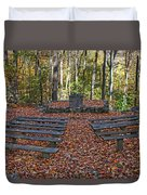 The Chapel In The Park Duvet Cover