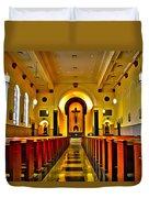 Chapel Interior I Duvet Cover