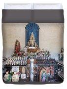 Chapel Mortuary Interior - San Xavier Del Bac Mission - Tucson Arizona Duvet Cover