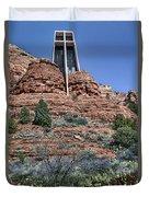 Chapel Of The Holy Cross - Arizona Duvet Cover