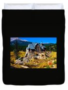 Chapel On The Rock  Duvet Cover