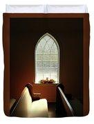 Chapel Window Duvet Cover