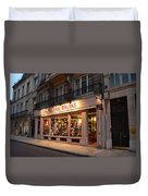 Chapellerie Bruyas Hat Store Duvet Cover