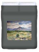 Chapmans Peak Cape Peninsula South Africa Duvet Cover