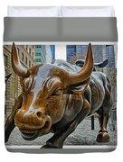 Charging Bull 4 Duvet Cover