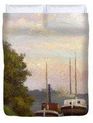 Charlands Sur La Seine 1885 Duvet Cover