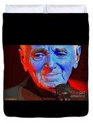 Charles Aznavour Duvet Cover