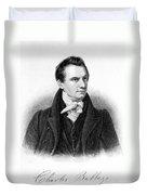 Charles Babbage, English Computer Duvet Cover
