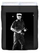 Charles Bronson In Raid On Entebbe 1977  Duvet Cover