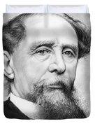 Charles Dickens Duvet Cover