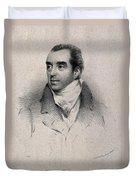 Charles Hatchett, English Chemist Duvet Cover