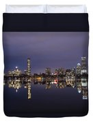 Charles River Clear Water Reflection Duvet Cover
