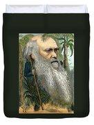 Charles Robert Darwin Duvet Cover