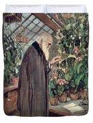 Charles Robert Darwin Duvet Cover by John Collier
