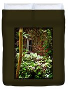 Charleston Alley Window Duvet Cover