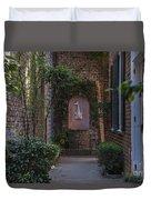 Charleston Brick Alley Duvet Cover