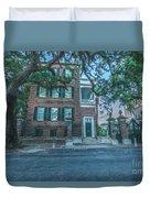 Charleston By Moonlight Duvet Cover