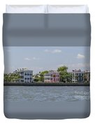 Charleston By The Sea Duvet Cover