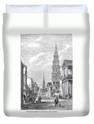 Charleston: Church, 1861 Duvet Cover