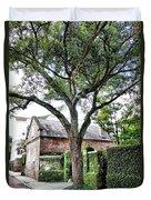 Charleston Church Street Live Oak And Ivy Duvet Cover
