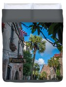 Charleston Footlight Players Duvet Cover