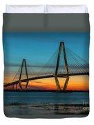 Charleston Golden Hour Duvet Cover