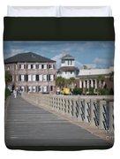 Charleston High Battery Side Walk Duvet Cover