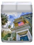 Charleston Patriot - Watercolor Duvet Cover
