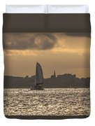 Charleston Sailing Duvet Cover