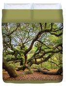 Charleston Sc Angel Oak Tree South Carolina Landscape Duvet Cover