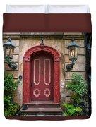Charleston Sc Grand Entrance Duvet Cover