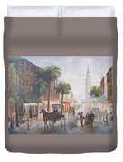 Charleston Somewhere In Time Duvet Cover