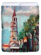 Charleston St Phillips Church Duvet Cover