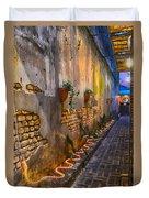 Charleston Streets Duvet Cover