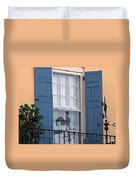Charleston Weathervane Reflection Duvet Cover
