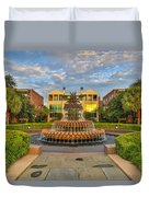 Charleston Welcomes You Duvet Cover