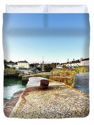 Charlestown From The Sea Wall Duvet Cover